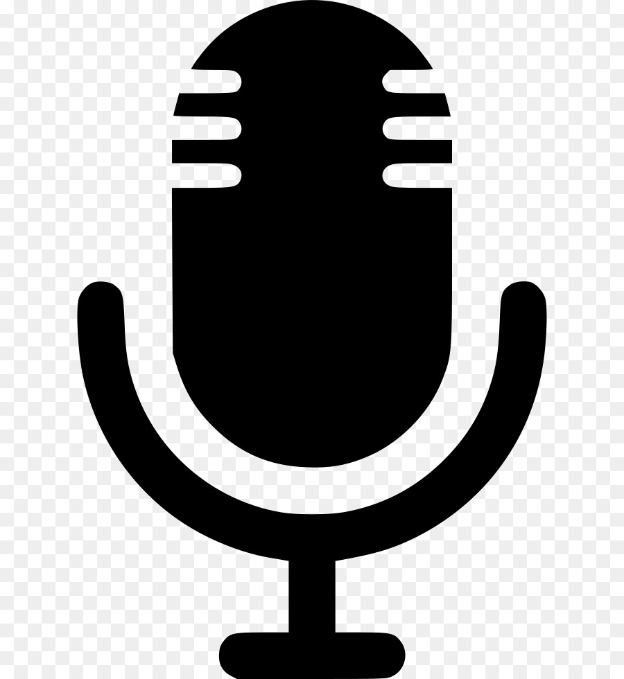 Microphone Sound Recording and Reproduction Clip art.