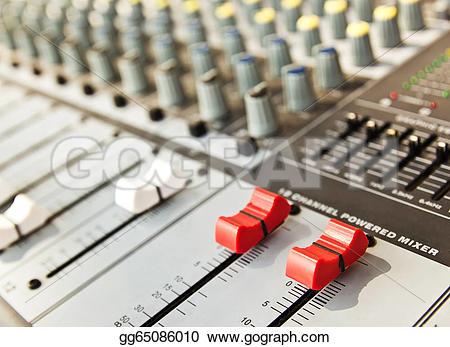 recording console clipart #11