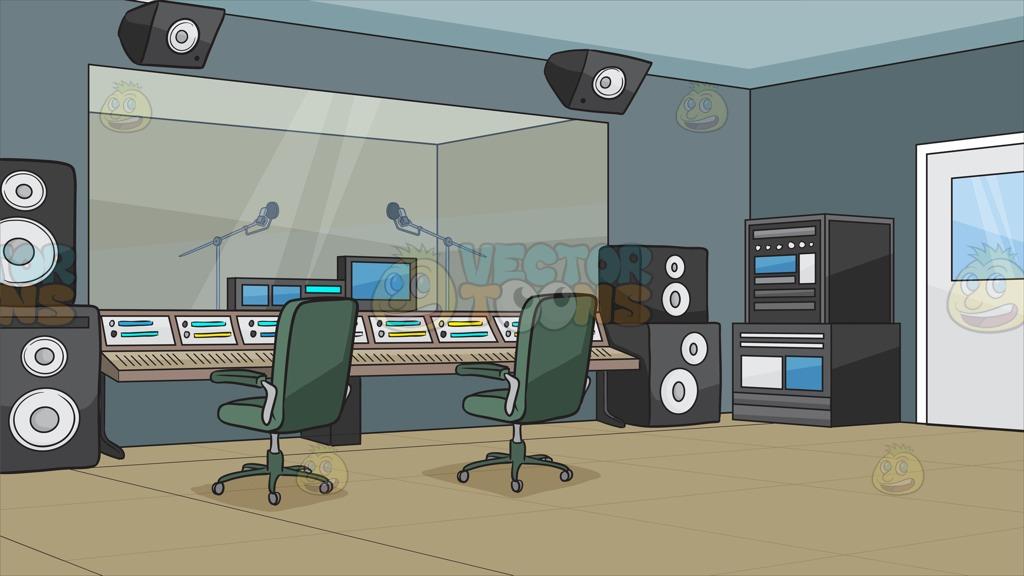 Recording console clipart.
