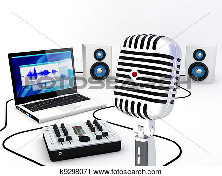 Recordings clipart.