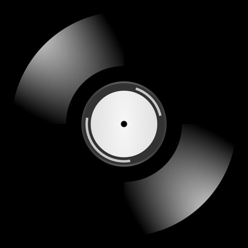 Free Clipart: Vinyl records.