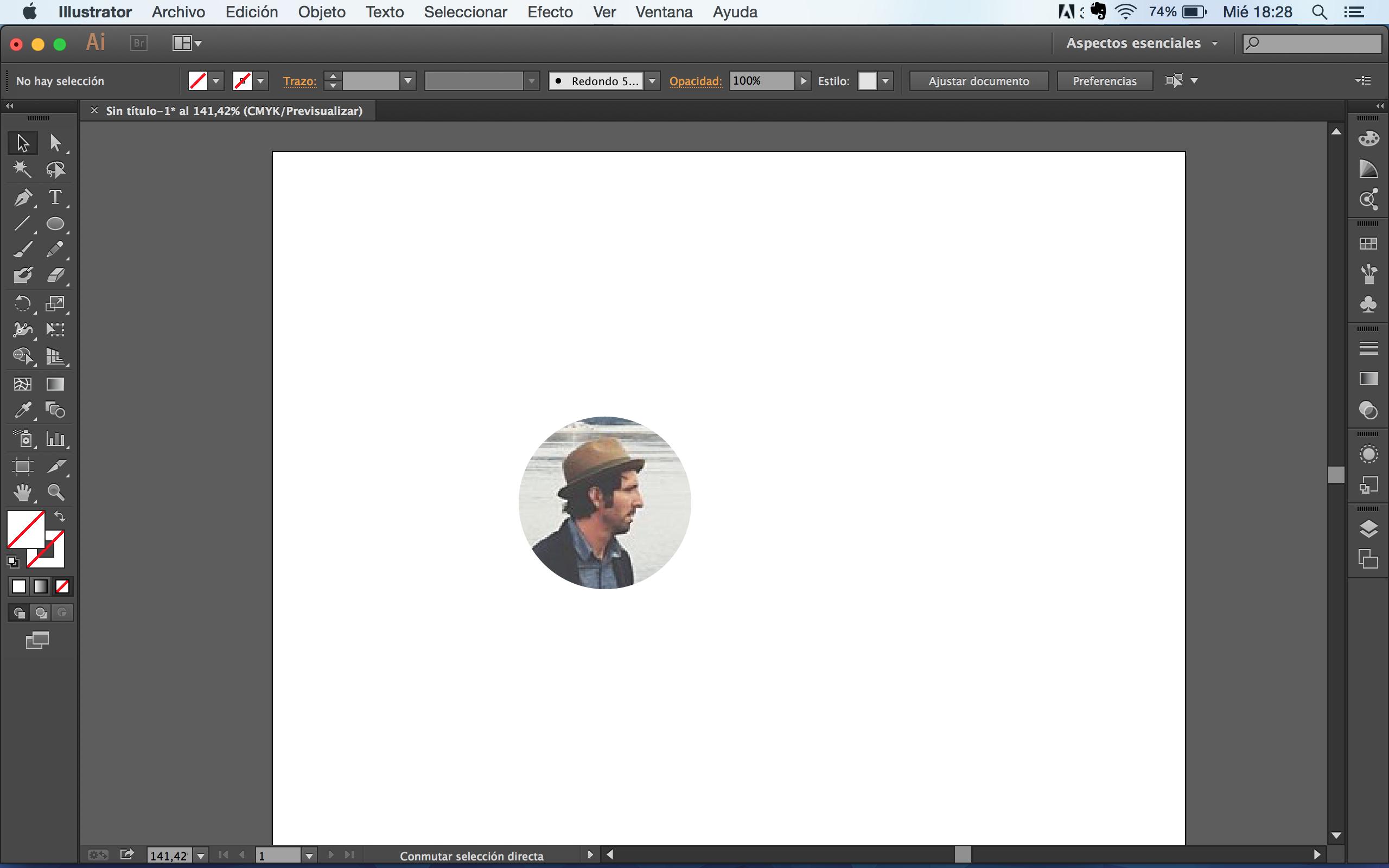 Cómo recortar una imagen circular.