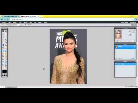 Como recortar una imagen por los bordes (imagen png) (pixlr, editor online).