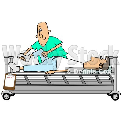 Clipart Illustration of a Black Female Nurse In Scrubs And A Hat.