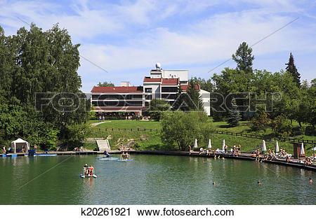 "Stock Photography of Hotel ""Yugoslavian"". Hotel and Health Resort."