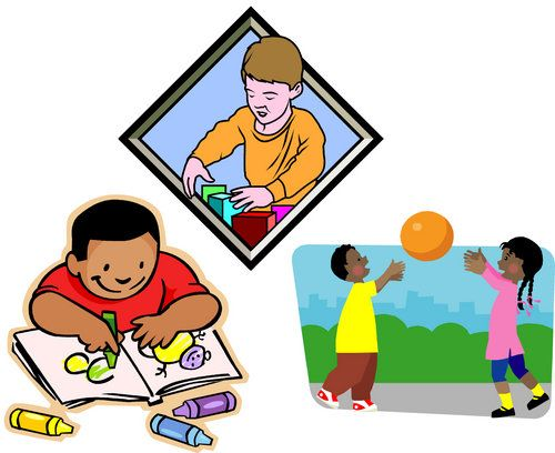Occupational and physical therapy activities for kids.