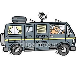 Cartoon Rv Clipart.