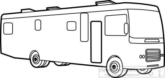 Recreational Vehicle Clipart : motor.