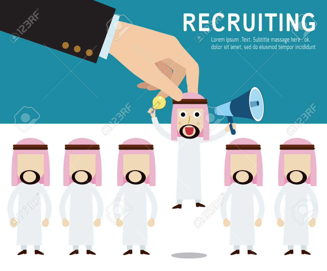 5,994 Worker Recruitment Stock Vector Illustration And Royalty.