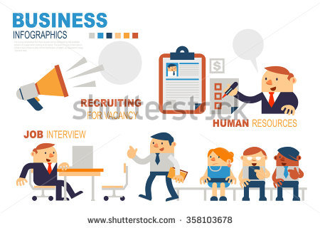 Hr Recruiting Stock Images, Royalty.