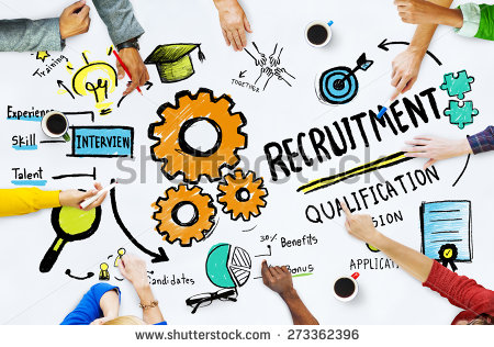 Recruitment Stock Images, Royalty.