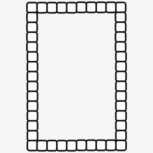 Rectangle Label Frame Clipart.