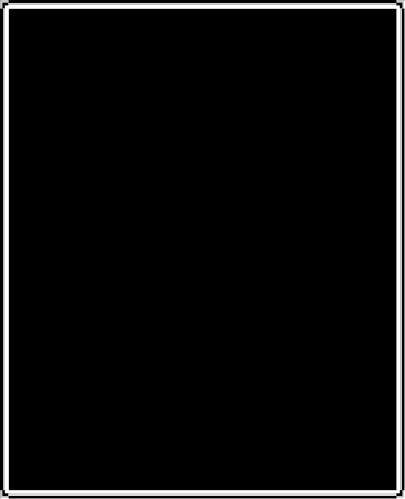 HD Black Rectangle Outline Transparent.
