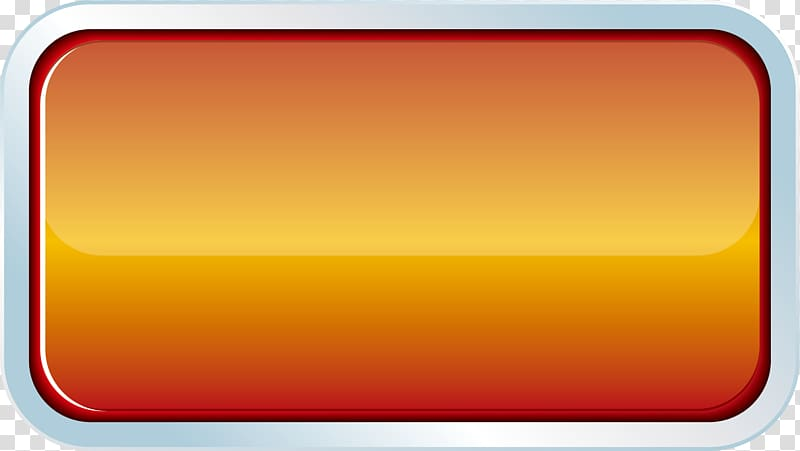 Rectangular orange bar , Rectangle Font, Crystal button.
