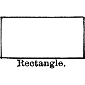 Rectangle Clipart.
