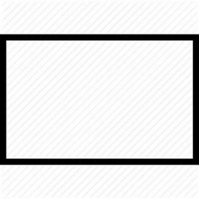 Rectangle outline png AbeonCliparts.