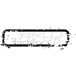 grunge weathered distressed rectangle vector art clipart. Royalty.