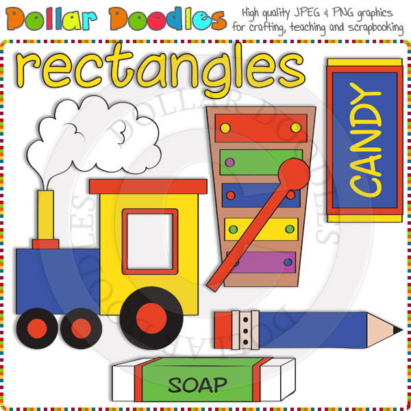 Rectangles Clip Art Download [DSK99930].