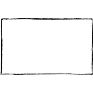 Rectangle Black And White Clipart.