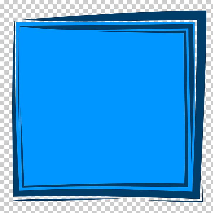 Cuadros de color azul, cuadro de color azul PNG Clipart.
