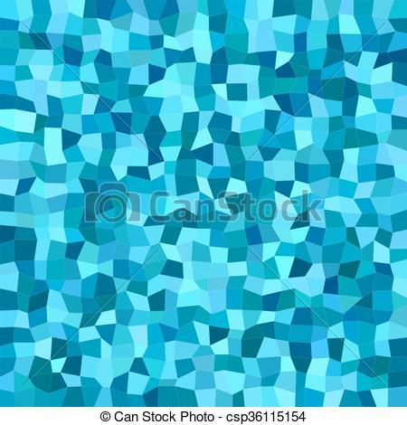 Azul, irregular, color, mosaico, plano de fondo, rectángulo.