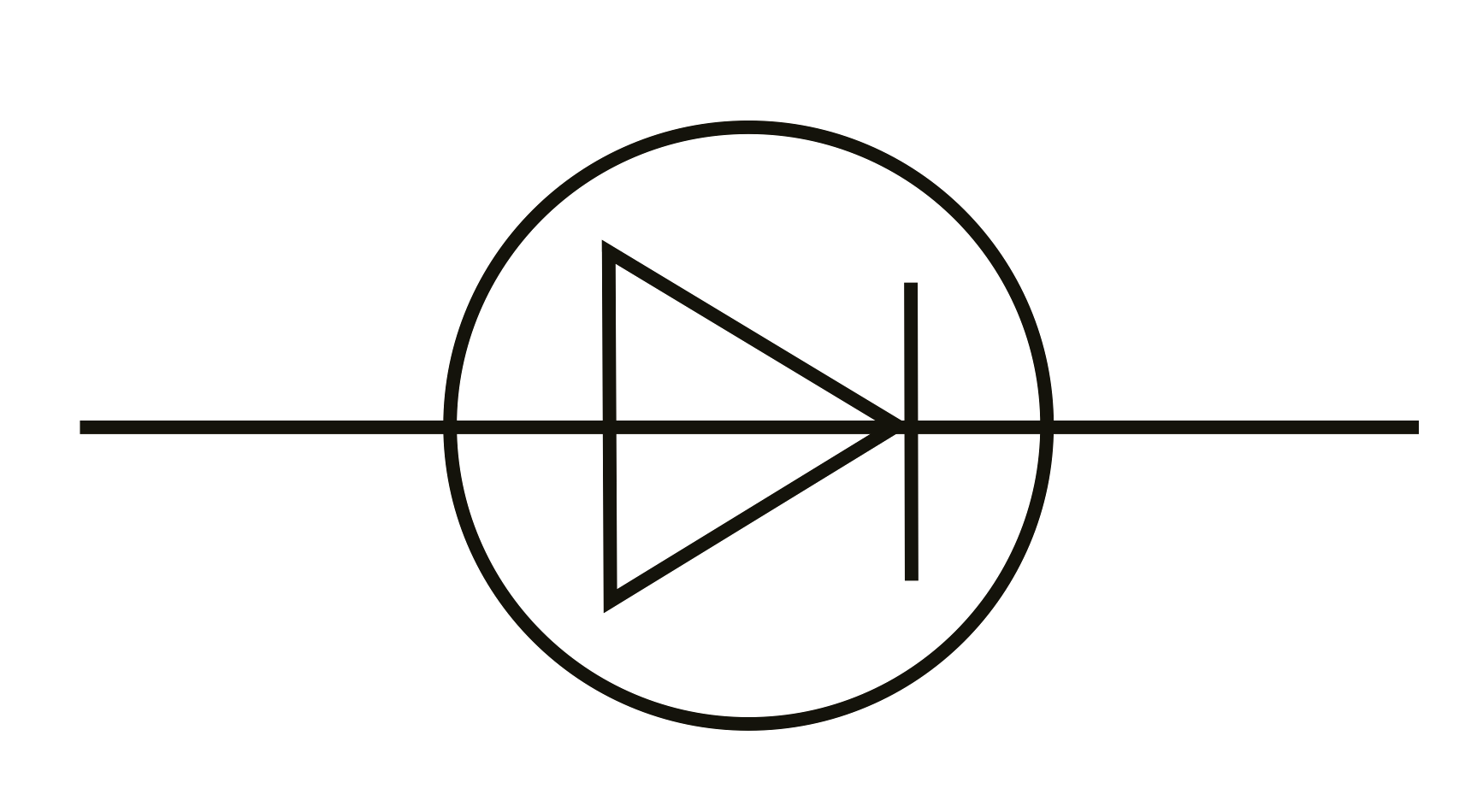 Schematic Symbol Of An Ideal Diode.