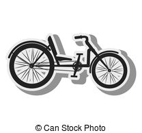 Recumbent bicycle Clipart and Stock Illustrations. 16 Recumbent.
