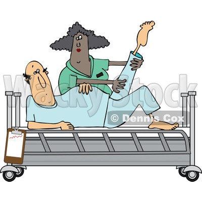 Patient Recovery Clipart.