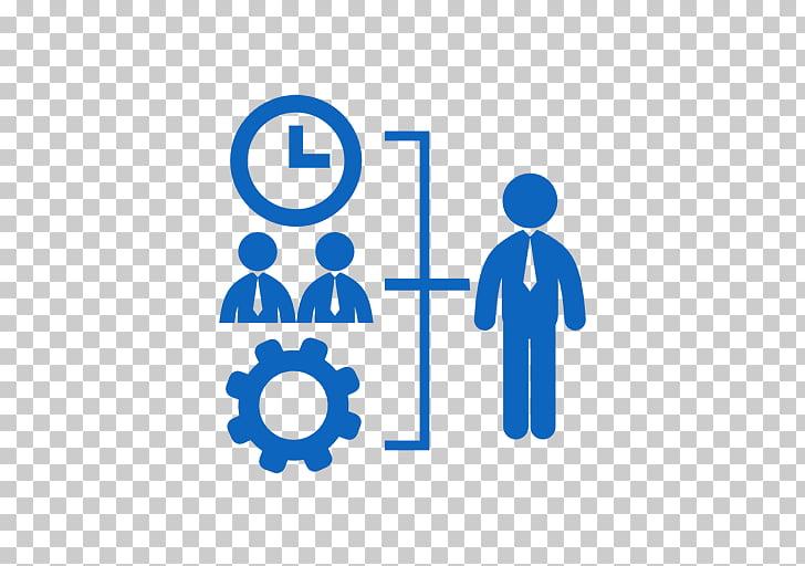 Iconos de computadora gestor de recursos humanos empresario.
