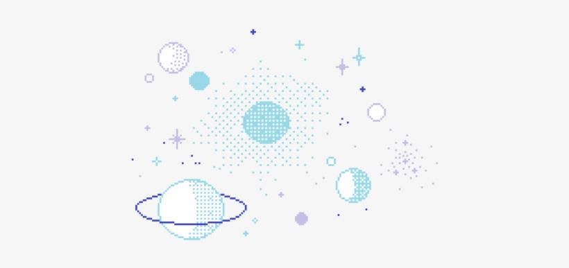 Space Stars Transparent.