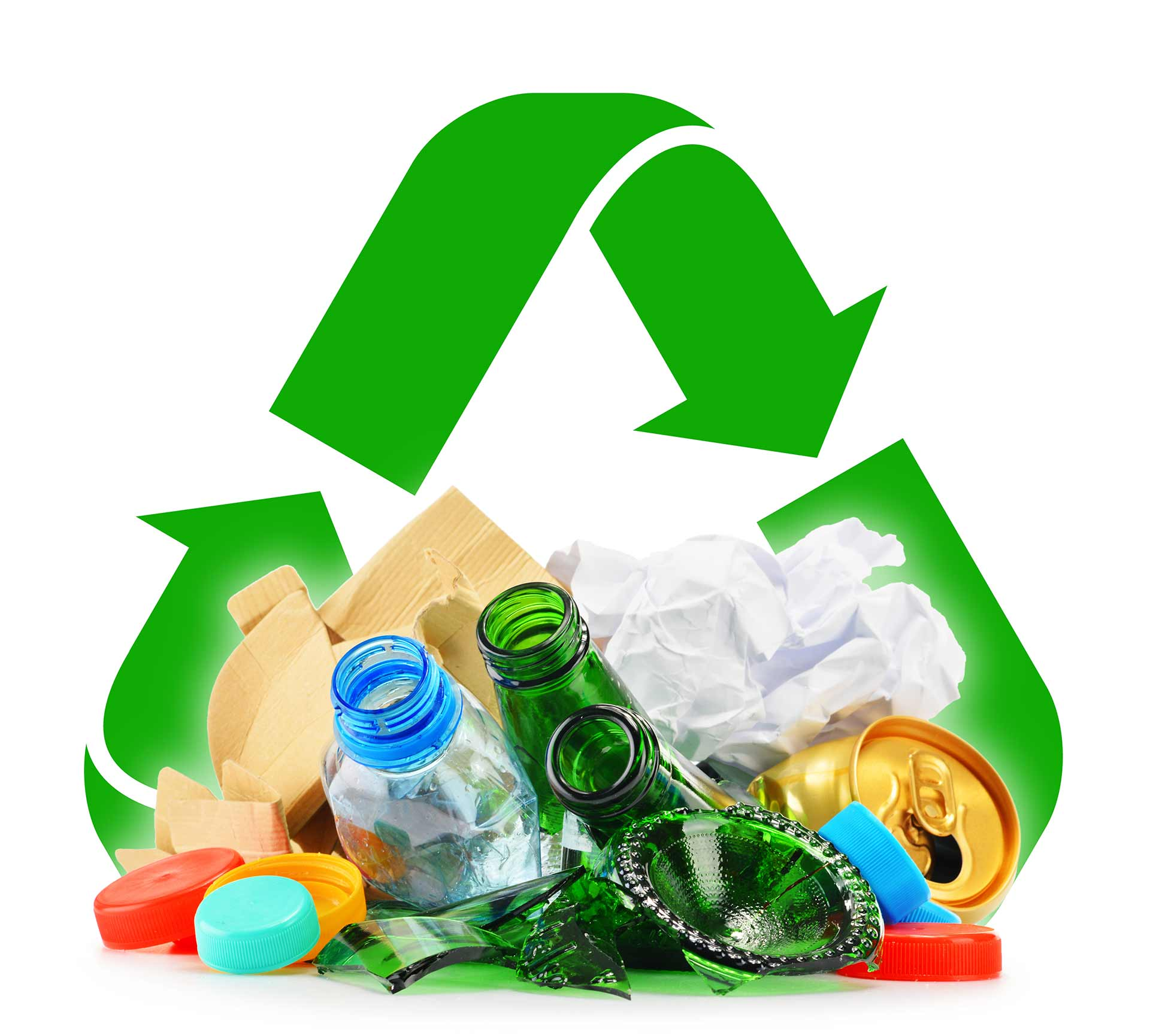 Get into the habit of buying recycled.