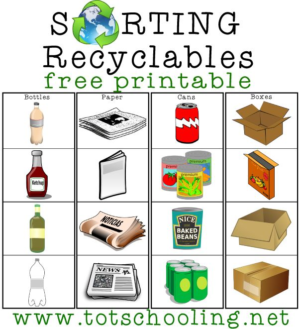 78 Best ideas about Recycling Activities For Kids on Pinterest.