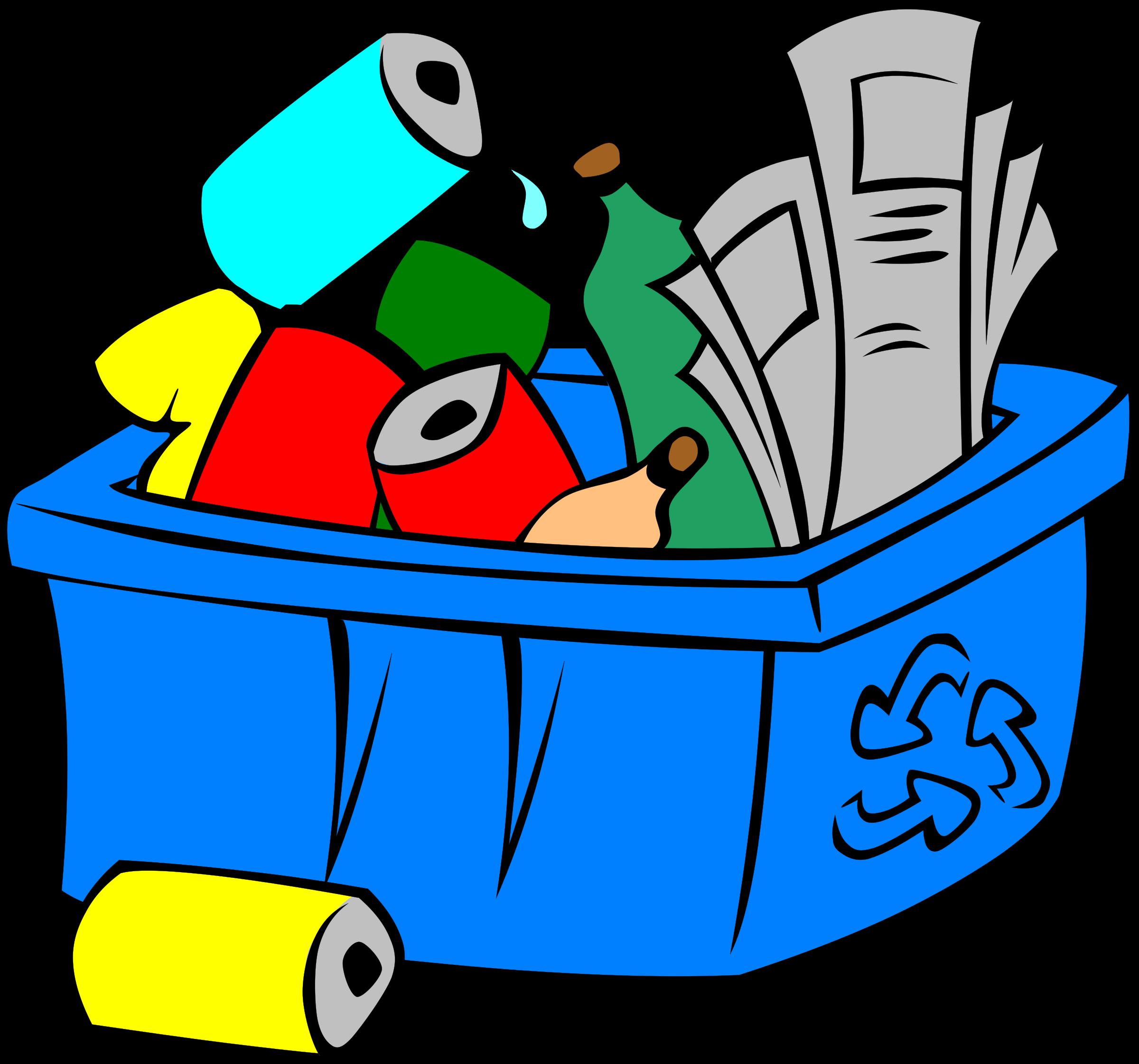 Recycling Bin Clip Art.
