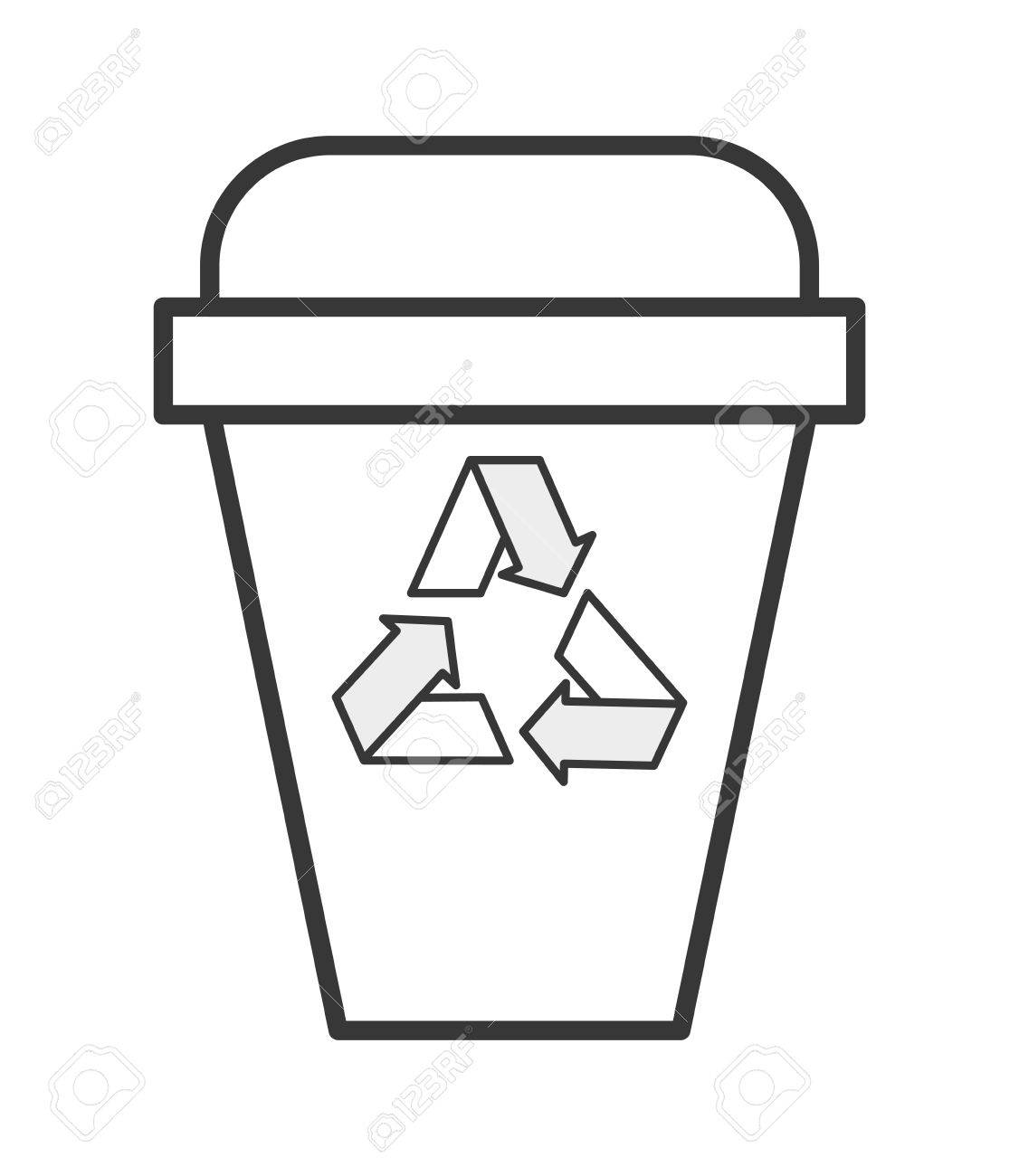 1406 Recycle free clipart.