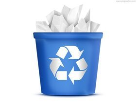 Free Recycling Bin Cliparts in AI, SVG, EPS or PSD.