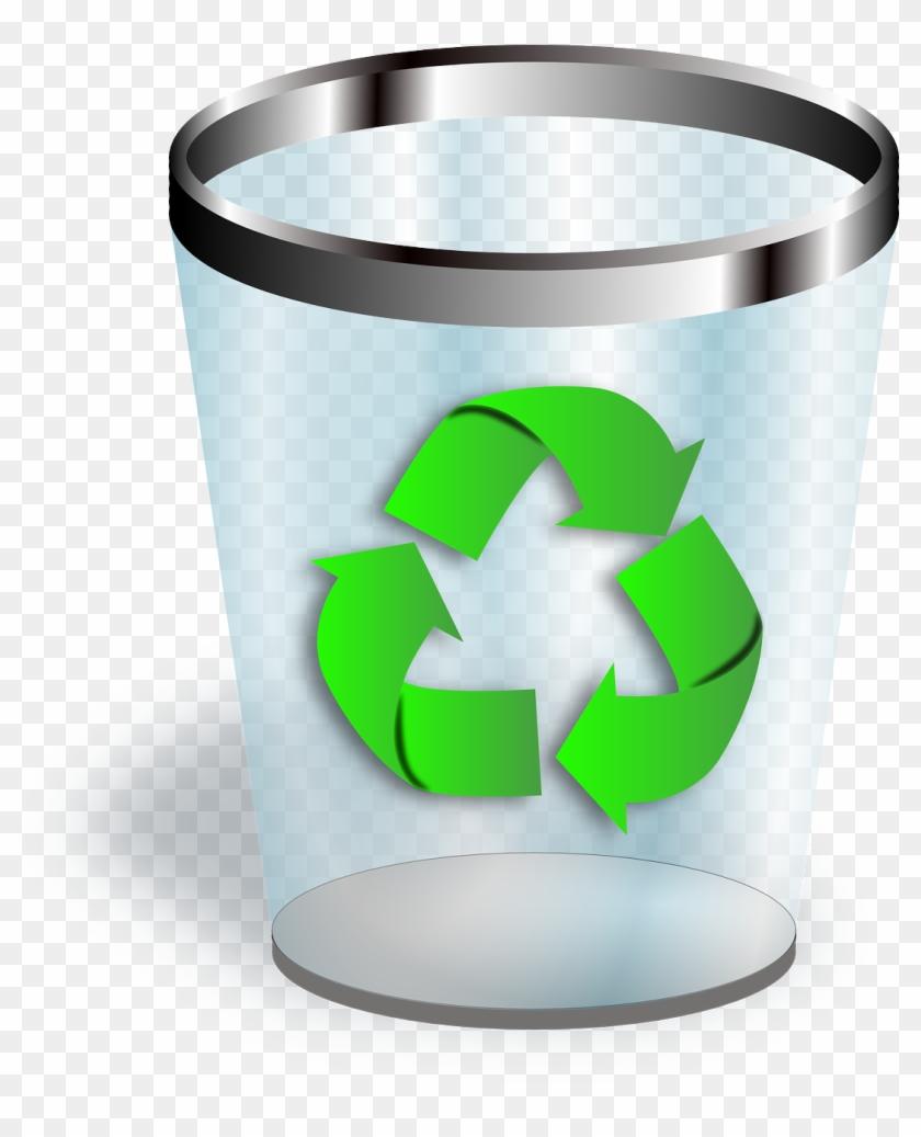Trashcan Recycle Bin Bin Trash Png Image.