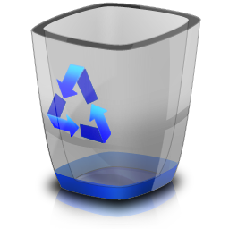 Vector Recycle Bin Icon #16272.