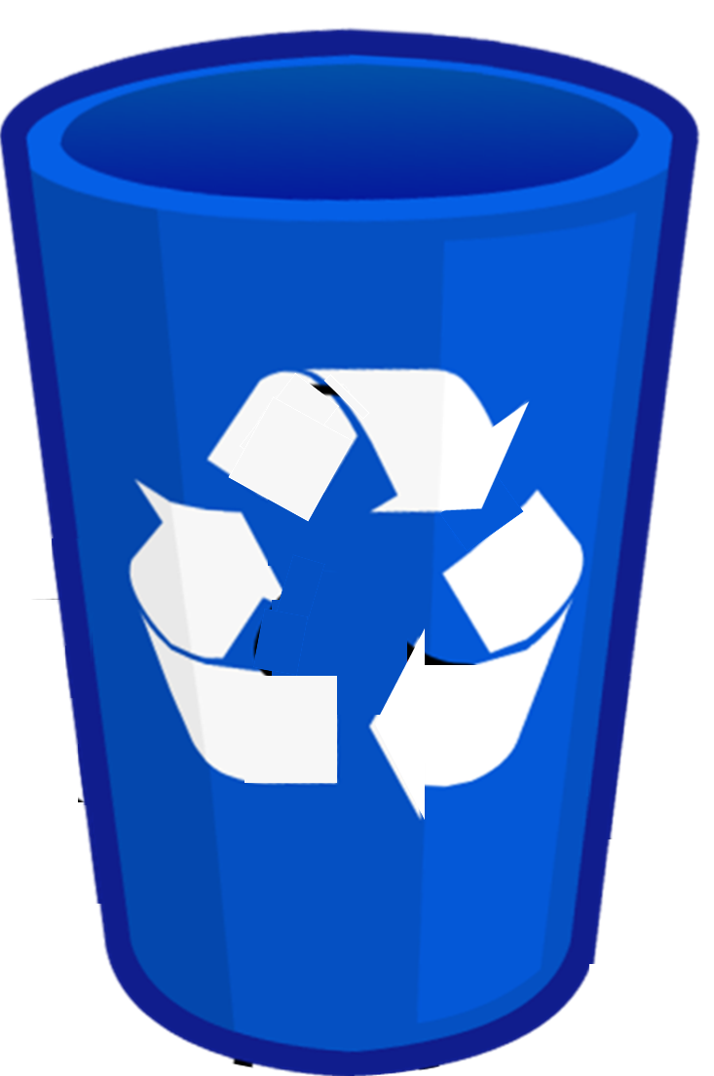 Blue Recycle Bin Png 2 » PNG Image #174574.