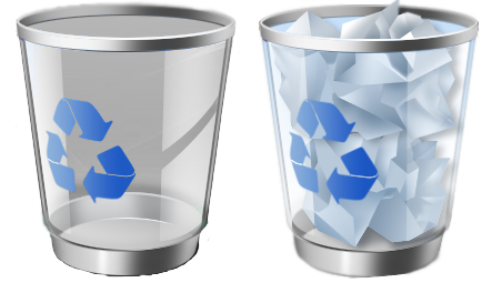 Recycle Bin PNG Clipart.