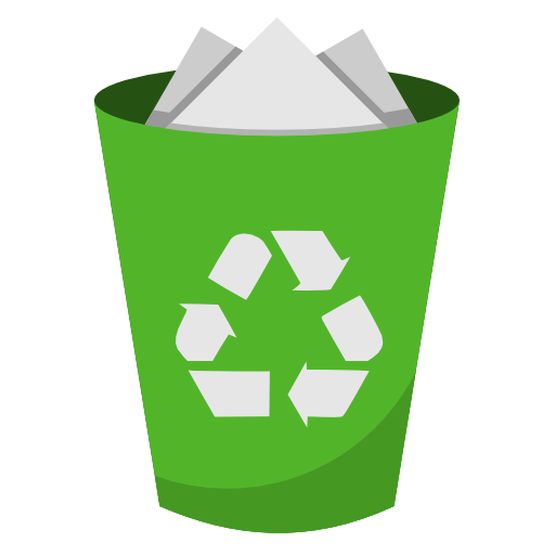 Recycle bin PNG Image.