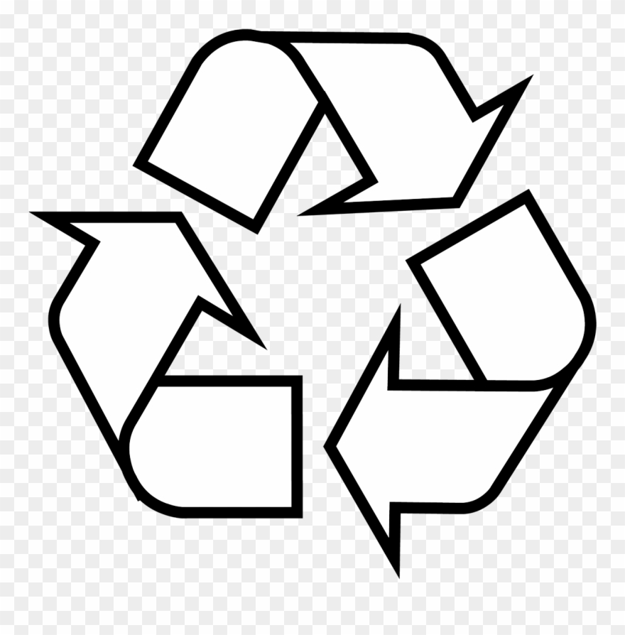 Recycling Symbol Clipart (#1543819).