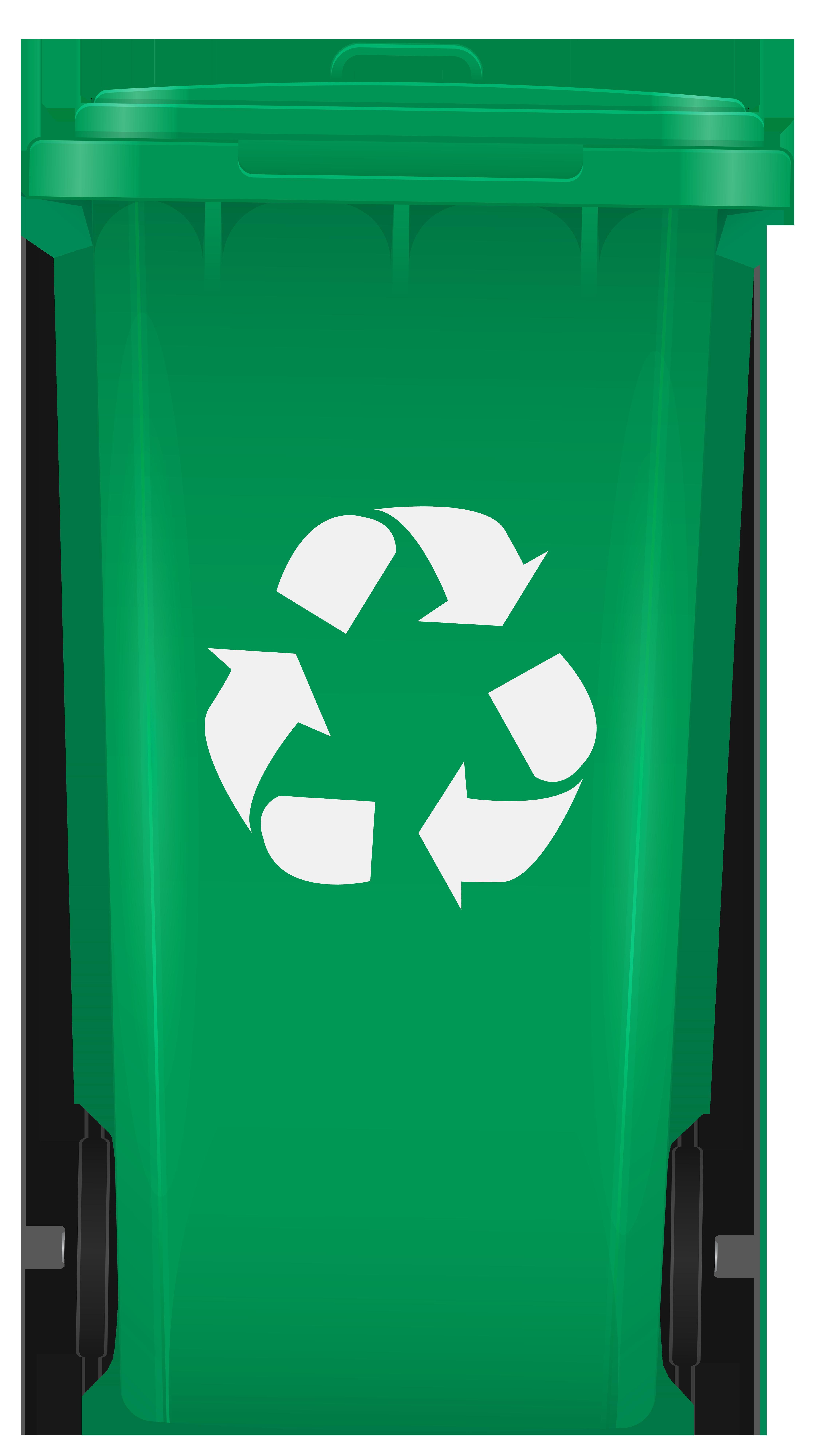 Recycling Bin PNG Clip Art.