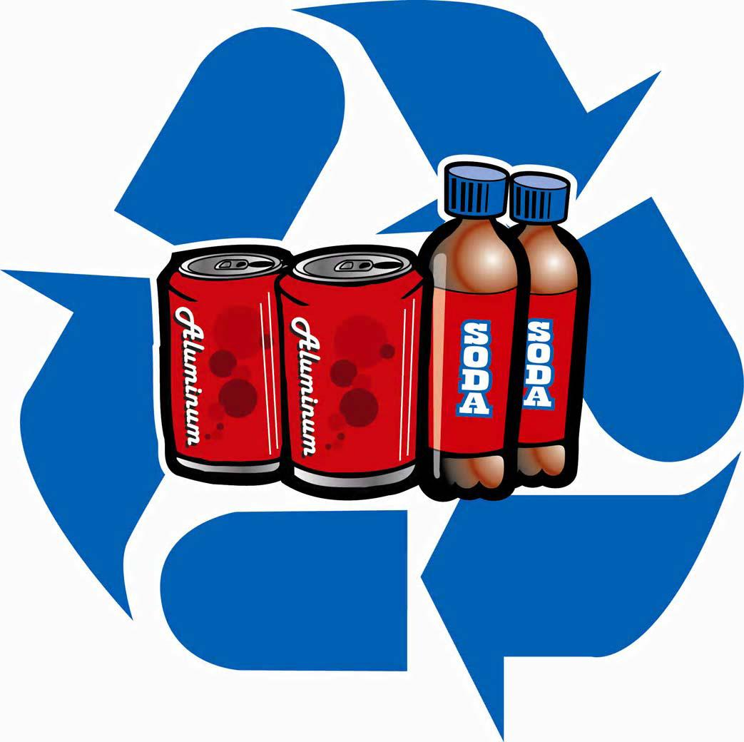 1404 Recycle free clipart.