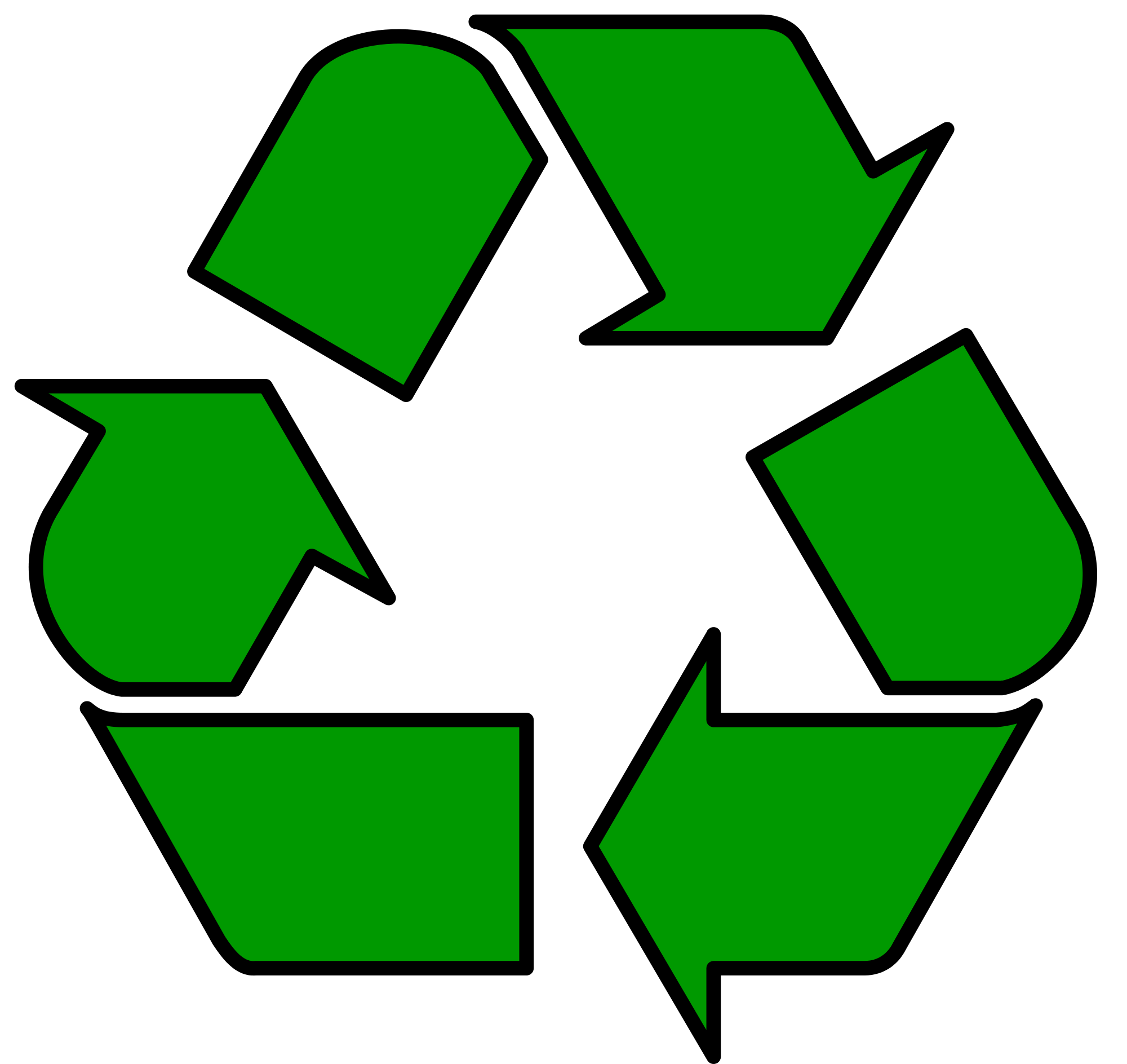 Recycle symbol clip art clipart images gallery for free.