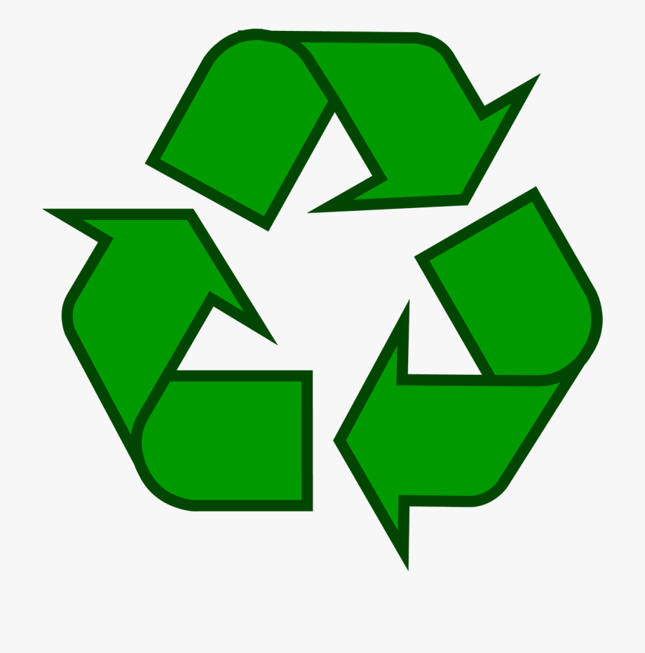 Recycling Symbol Icon Outline Sol.
