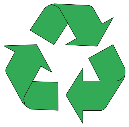 Recycle Symbols and Patterns, Signs (Reduce Reuse Recycle.