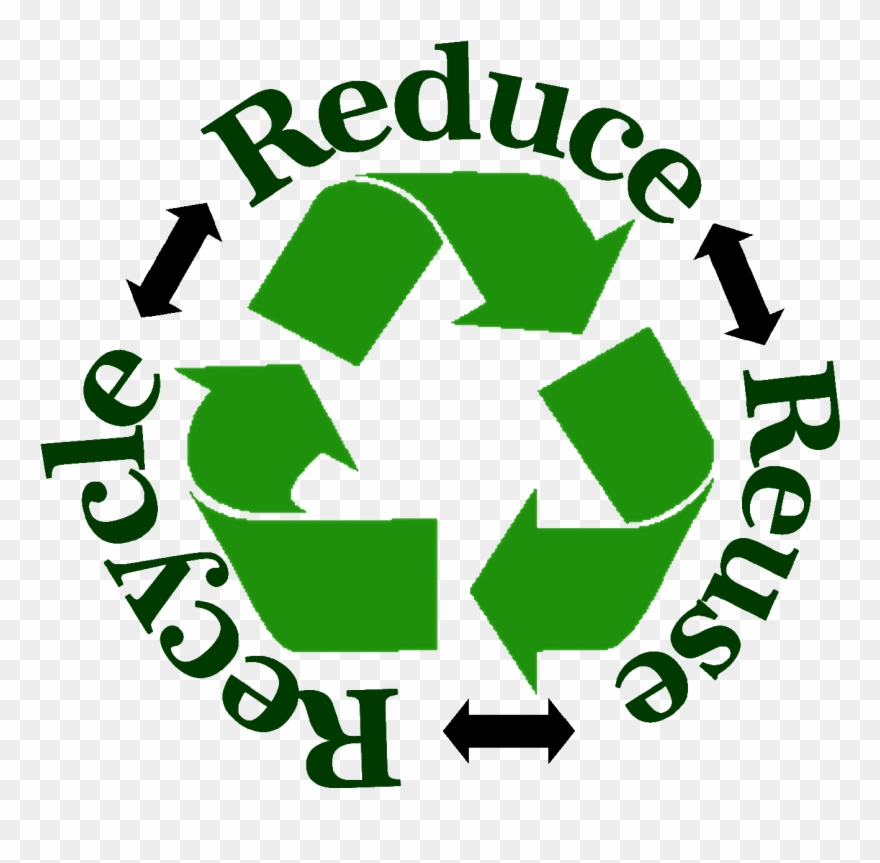 Pin Reduce Reuse Recycle Clipart.