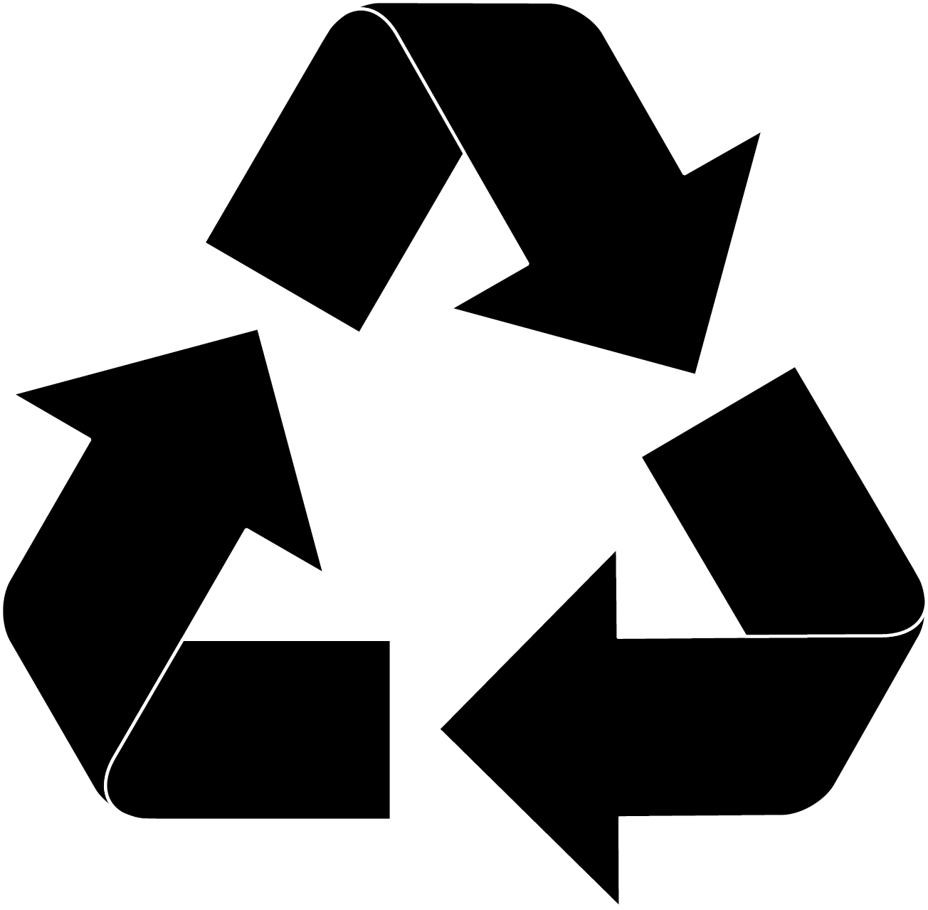 Recycle Symbol transparent PNG.