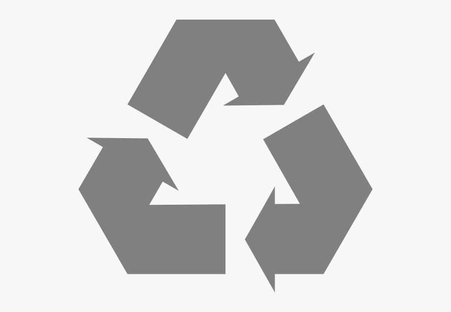 Free Vector Simple Recycle Icon Arrows Clip Art.