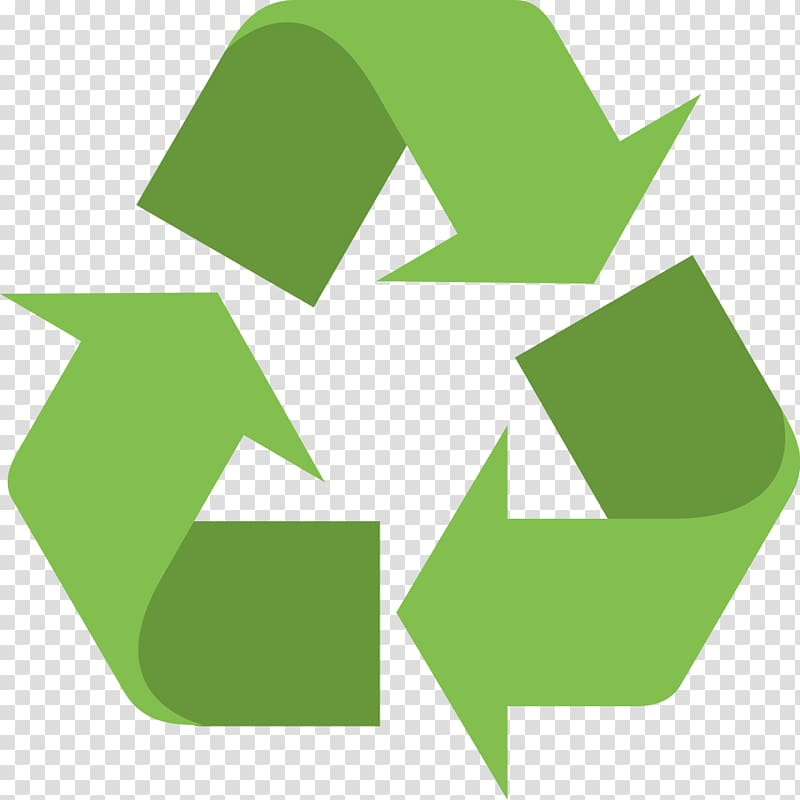 Recycle logo, Recycling symbol Waste, recycle bin.